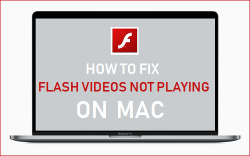 Fix Flash Videos Not Playing on Mac