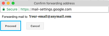 Complete Email Forwarding Setup in Gmail