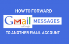 How to Auto Forward Gmail to Another Email Account