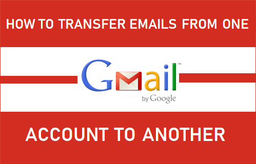 Transfer Emails From One Gmail Account to Another