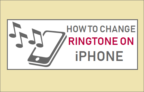 Change Ringtone on iPhone