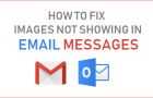 Fix Images Not Showing in Email Messages