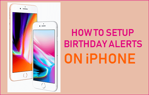 Setup Birthday Alerts on iPhone