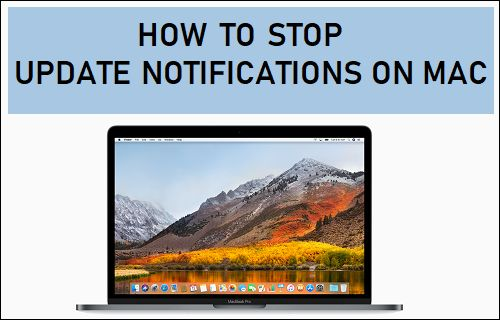 Stop Update Notifications on Mac