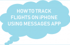 How to Track Flights On iPhone using Messages App