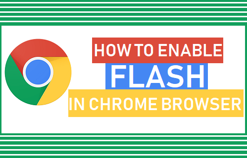 Enable Flash in Chrome Browser