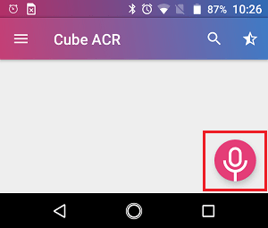 Cube ACR Microphone Icon