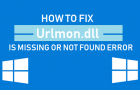 How to Fix Urlmon.dll Is Missing or Not Found Error