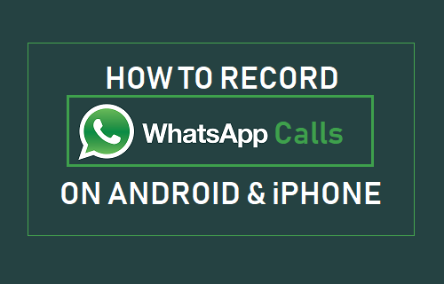 Record WhatsApp Calls on Android and iPhone