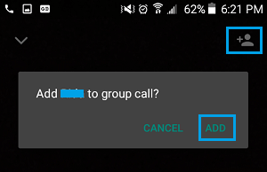 Add Next Member to WhatsApp Group Video Call