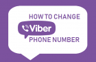Change Viber Phone Number