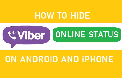 Hide Viber Online Status on Android and iPhone