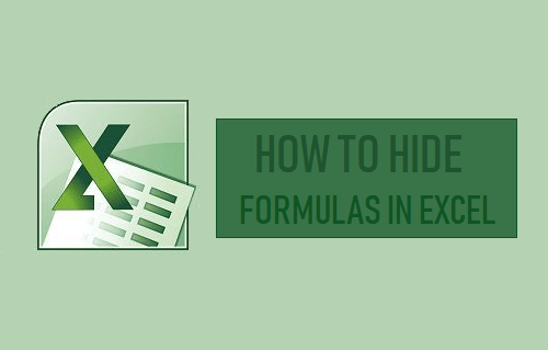 Hide Formulas in Excel