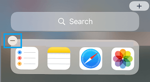 Remove Siri Widget From Home Screen