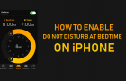 How to Enable Do Not Disturb At Bedtime On iPhone