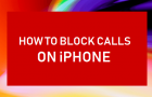 Block Calls on iPhone