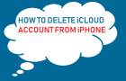 Delete iCloud Account From iPhone