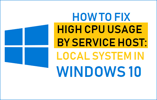 How to Fix High CPU Usage By Service Host: Local System in Windows 10