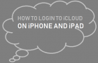 Login to iCloud on iPhone or iPad