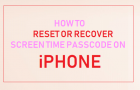 Reset or Recover Screen Time Passcode on iPhone