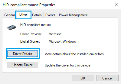 Update Driver For Mouse