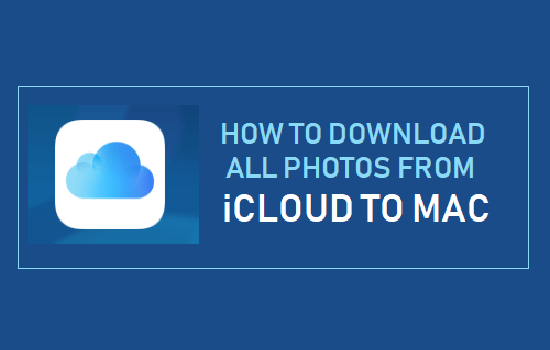 Download All Photos From iCloud to Mac