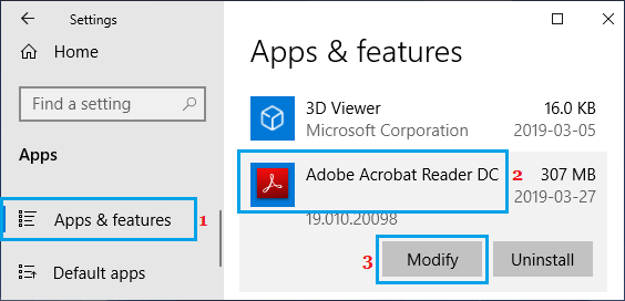 Modify Adobe Acrobat Reader Software