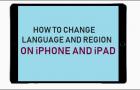 Change Language and Region on iPhone & iPad