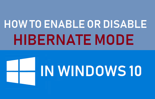 Enable Or Disable Hibernate Mode In Windows 10