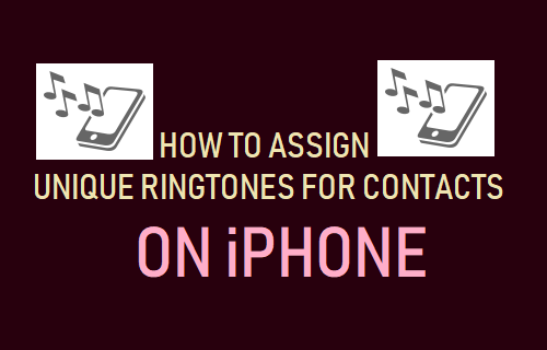 Assign Unique Ringtones For Contacts on iPhone