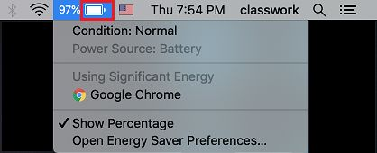Check Battery Condition on MacBook