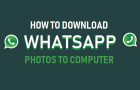 Download WhatsApp Photos to Computer