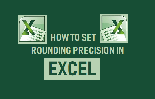 Set Rounding Precision In Excel