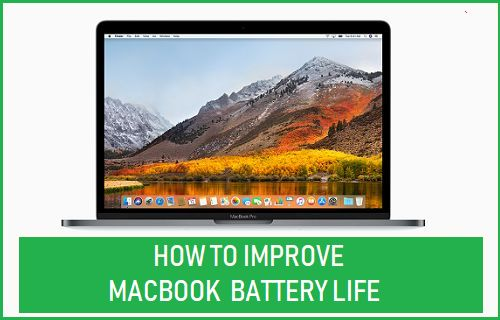 Improve MacBook Battery Life