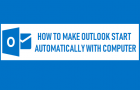 Make Outlook Start Automatically With Computer