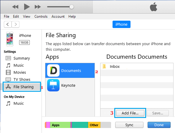 Add PowerPoint File to iPhone or iPad