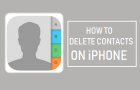 Delete Contacts From iPhone