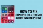 Fix Control Center Not Working on iPhone