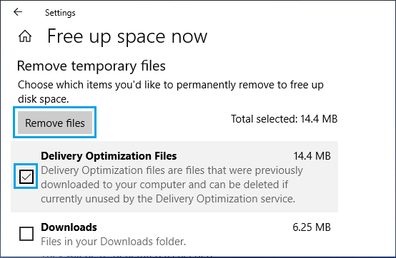 Remove Temporary Files on Windows PC