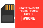 Transfer Photos From SD Card to iPhone