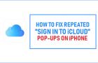 """Fix Repeated """"Sign in to iCloud"""" Pop-ups on iPhone"""