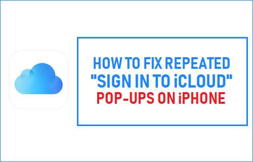 "Fix Repeated ""Sign in to iCloud"" Pop-ups on iPhone"