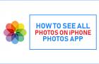 See All Photos On iPhone Photos App