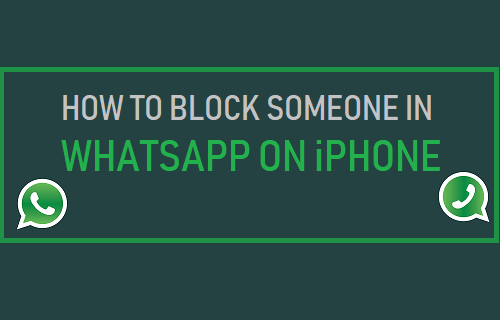 Block Someone in WhatsApp On iPhone