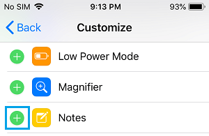 Customize Notes on iPhone Lock Screen