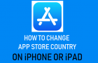 Change App Store Country On iPhone or iPad