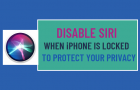 Disable Siri When iPhone is Locked to Protect Your Privacy