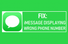 Fix: iMessage Displaying Wrong Phone Number