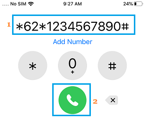 Forward Calls When iPhone is Unreachable
