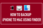 Backup iPhone to Mac Using Finder